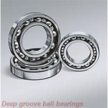 9 mm x 24 mm x 7 mm  skf W 609 R Deep groove ball bearings