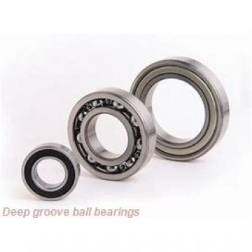 7 mm x 19 mm x 6 mm  skf W 607-2RS1 Deep groove ball bearings