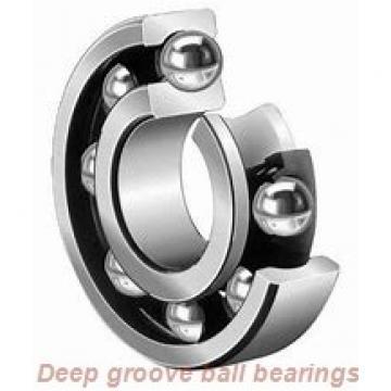12 mm x 28 mm x 12 mm  skf 63001-2RS1 Deep groove ball bearings