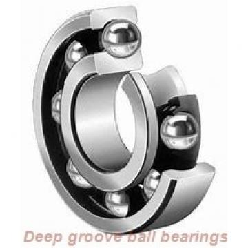 6 mm x 22 mm x 7 mm  skf W 636 Deep groove ball bearings