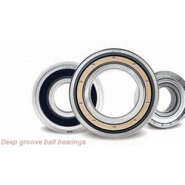 6,35 mm x 15,875 mm x 17,526 mm  skf D/W R4 R Deep groove ball bearings